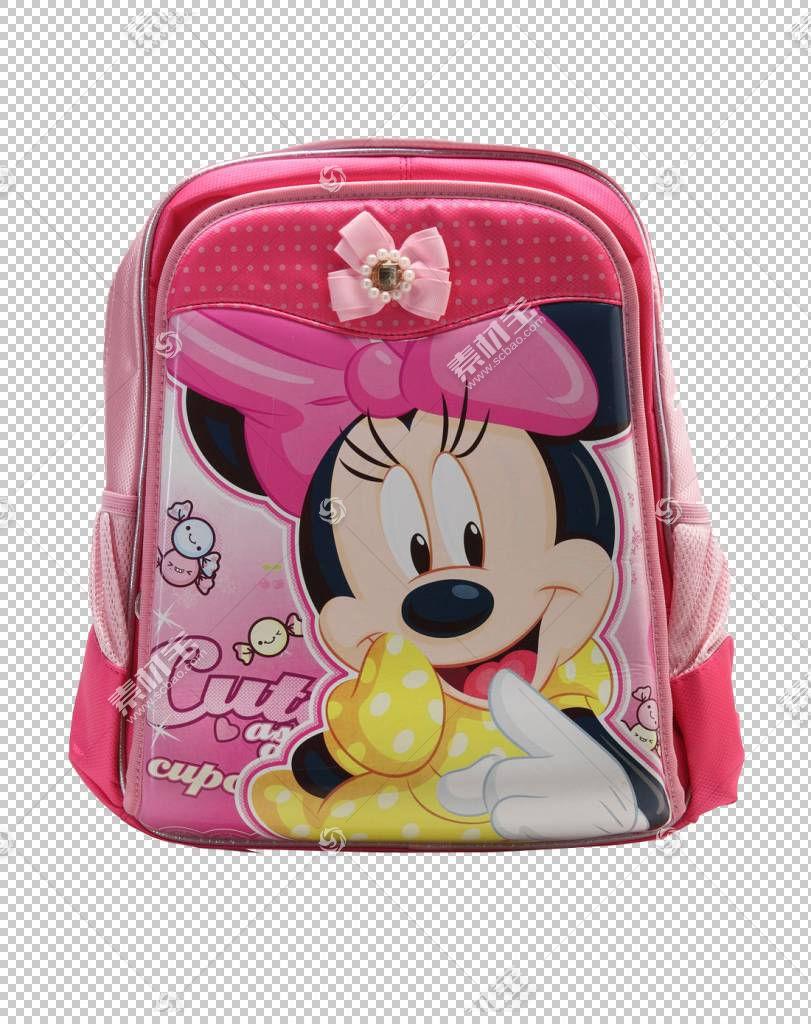 米老鼠电脑鼠标卡通,米老鼠书包PNG剪贴画英雄,背包,鼠标,洋红色,