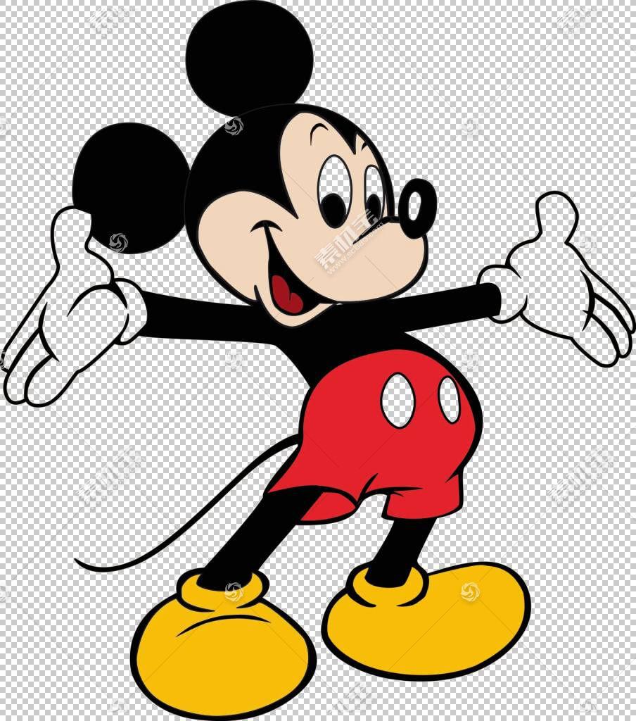 米老鼠米妮有趣的动物沃尔特迪斯尼公司卡通,micky鼠标PNG剪贴画