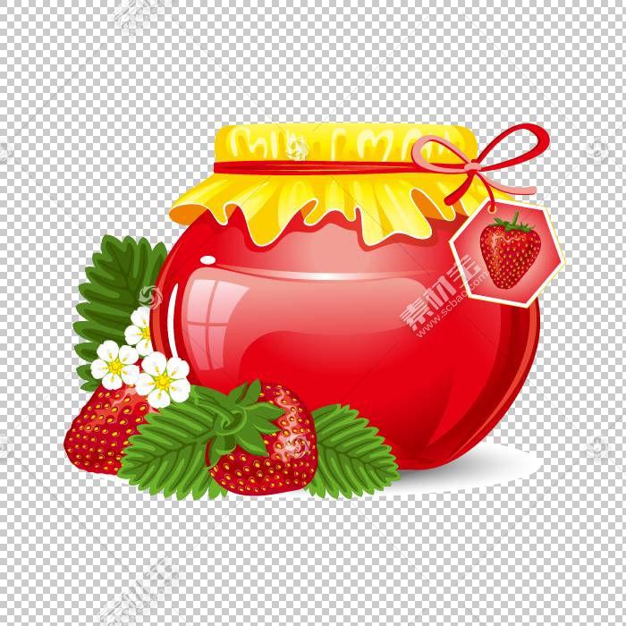 橘子果酱保留Jar,草莓果酱罐PNG剪贴画天然食品,食品,草莓,生日快