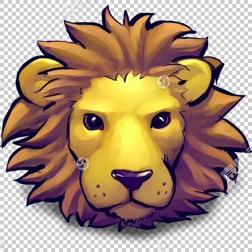 头花艺术大猫,幼狮,狮子胸围PNG剪贴画哺乳动物,脸,猫像哺乳动物,