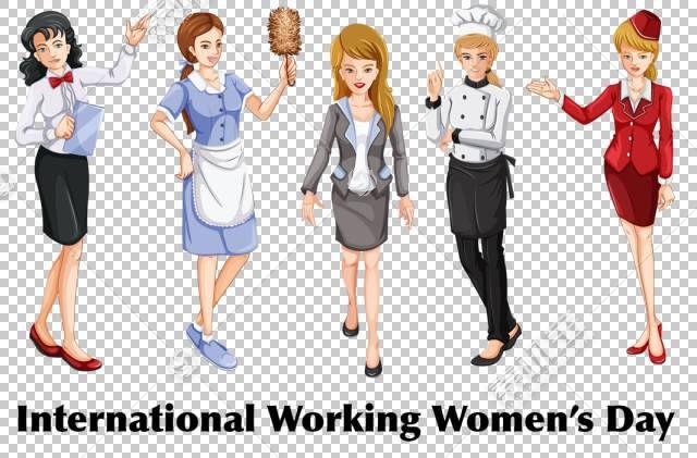 女人的女人国际妇女节,科斯特洛的PNG剪贴画公共关系,时尚,卡通,