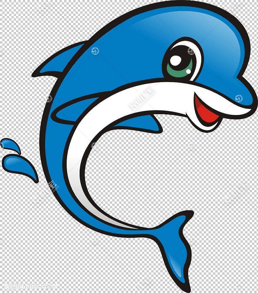 卡通海豚图案,蓝色海豚PNG剪贴画蓝色,漫画,司机,海洋哺乳动物,儿