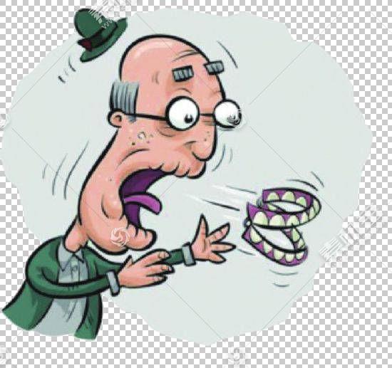 假牙牙科植入牙齿病理学牙科,祖父的假咳嗽飞画PNG剪贴画水彩绘画