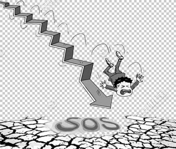 股市烛台图市场走势,股市熊市曲线PNG剪贴画角,文本,单色,卡通,材