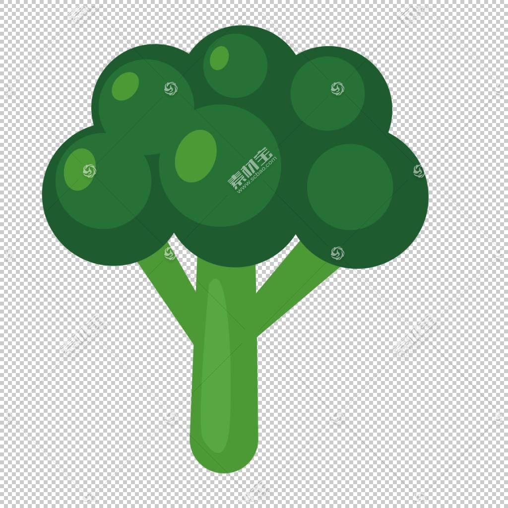 花椰菜蔬菜,花椰菜PNG剪贴画草,生日快乐矢量图像,卡通,封装PostS