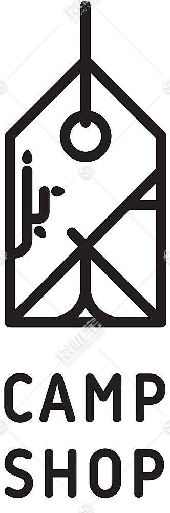 标签类形象创意LOGO设计