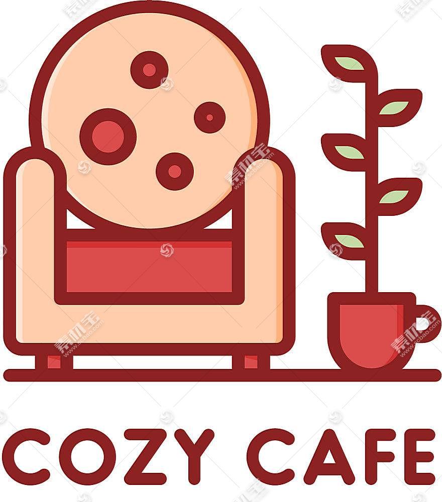 咖啡馆形象创意LOGO设计