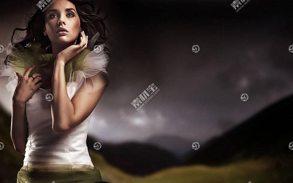 女人,模特,壁纸,(492)