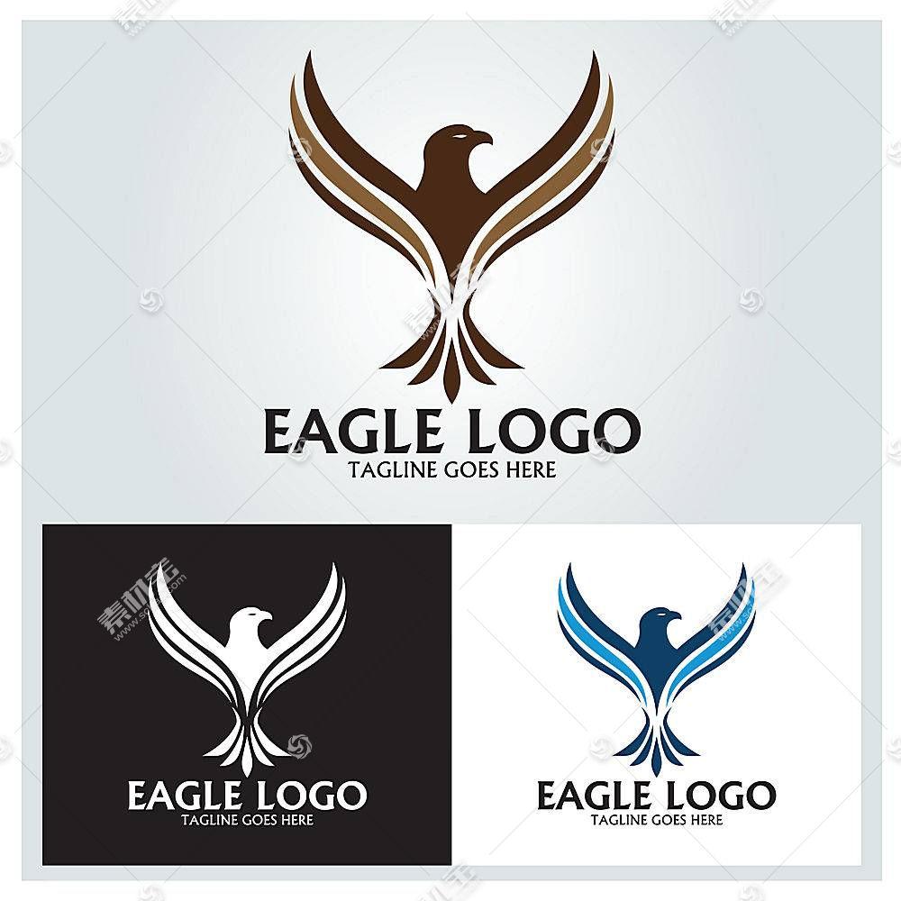 鸟类形象创意LOGO设计