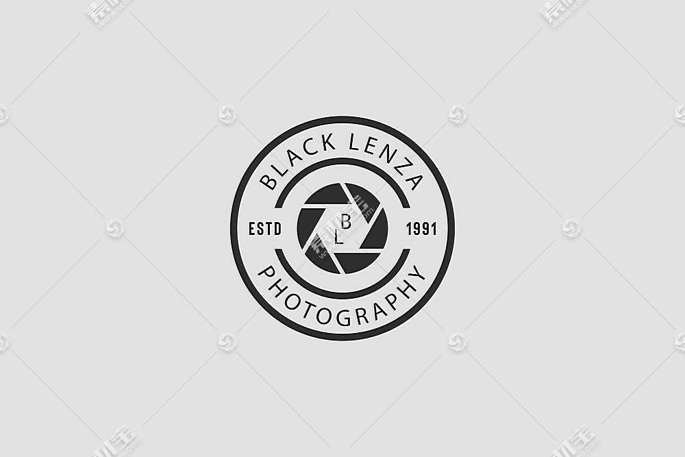圆形标签形象创意LOGO设计