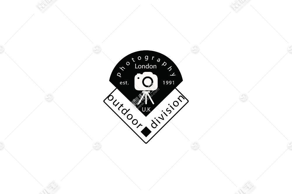 相机标签形象创意LOGO设计