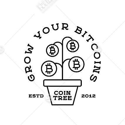 比特币形象创意LOGO设计