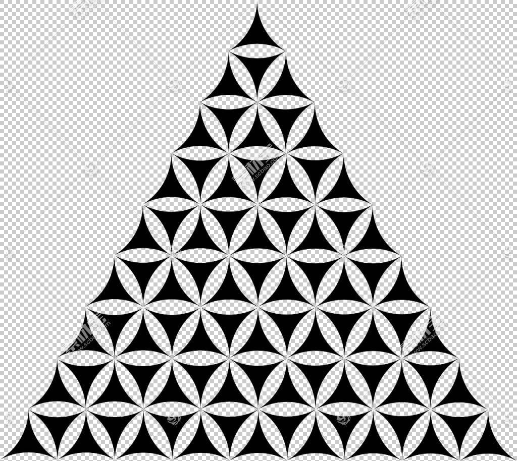 神圣几何三角重叠圆网格,彩色三角形数字png剪贴画角度,对称性,单图片