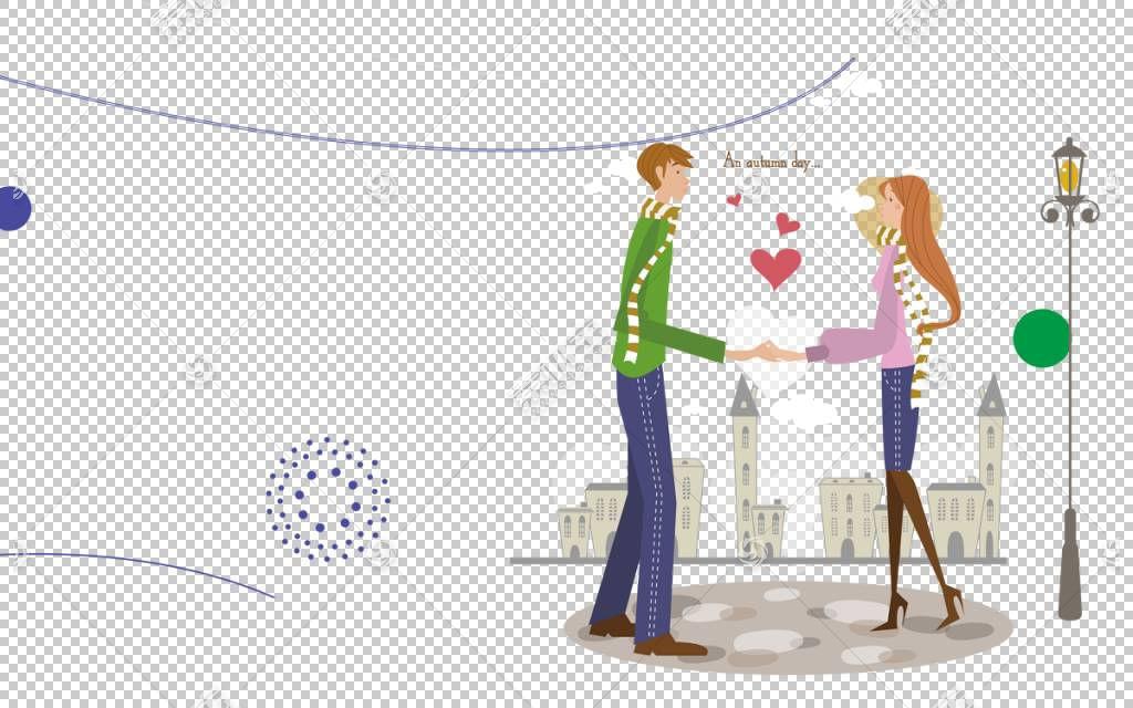 动画片图画重要其他例证,动画片夫妇PNG clipart爱,卡通人物,城市