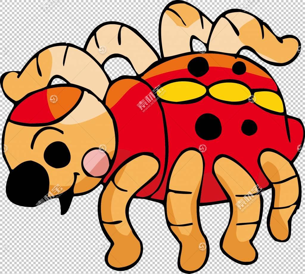 动物卡通可爱插画瓢虫png剪贴画食品,昆虫,生日快乐矢量图像,卡通图片图片