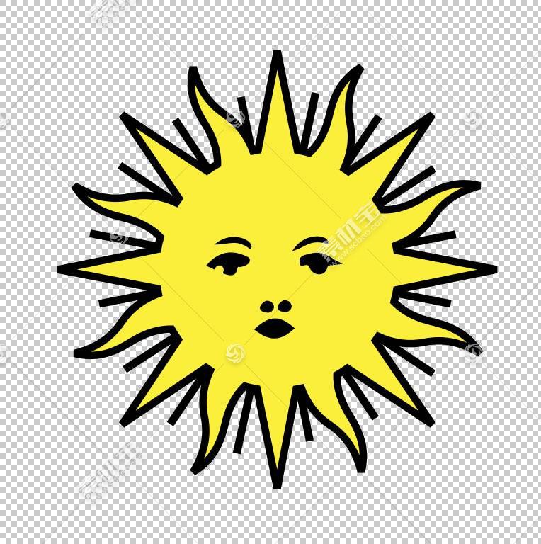 黑白花,圆,线条艺术,微笑,黑白,对称性,树,线路,叶,花,黄色,五月