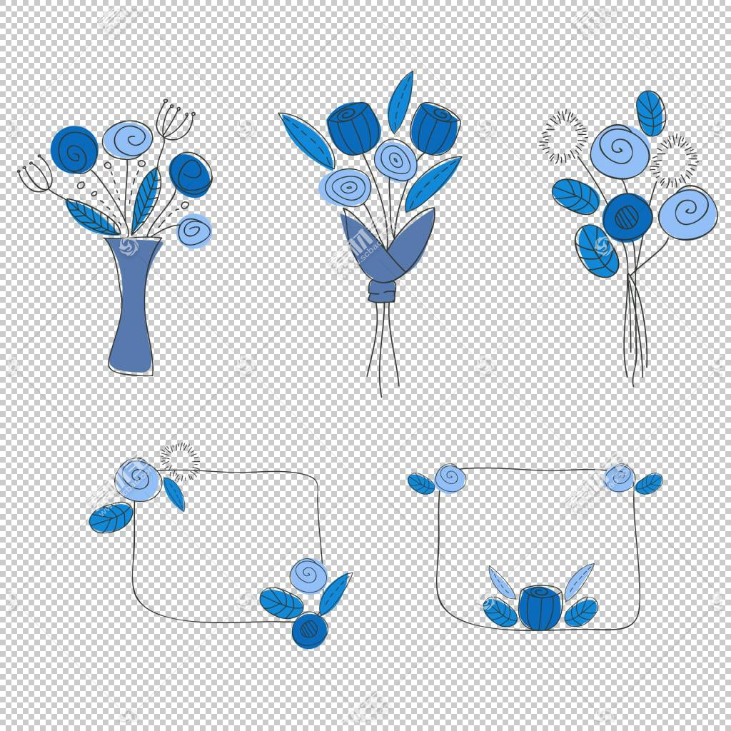 婚礼花卉背景,线路,模板,婚礼,花束,新娘,蓝色,花,花束,