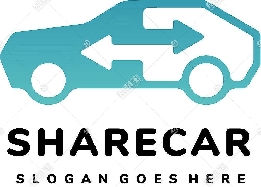 汽车主题LOGO徽章图标设计