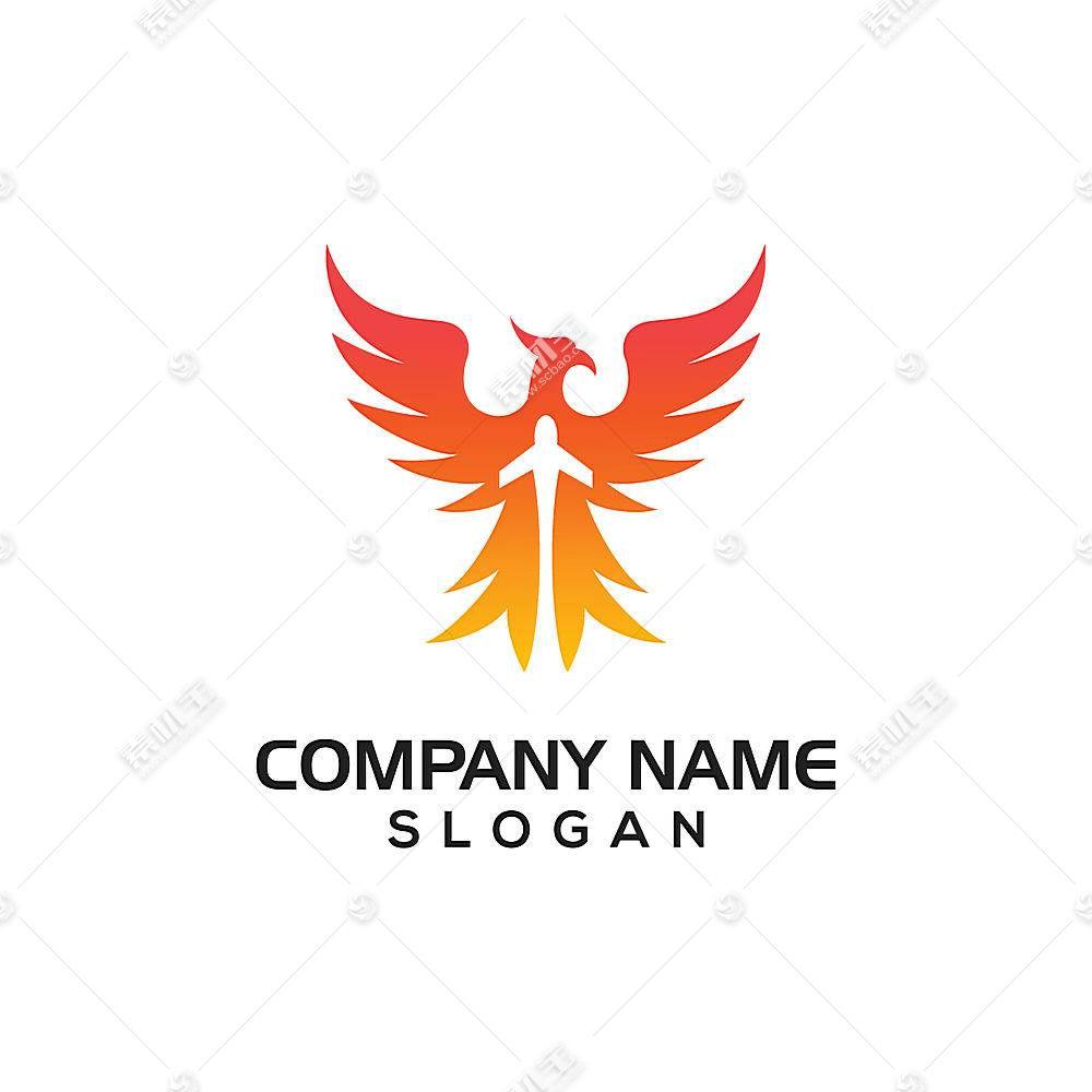 凤凰主题LOGO徽章图标设计