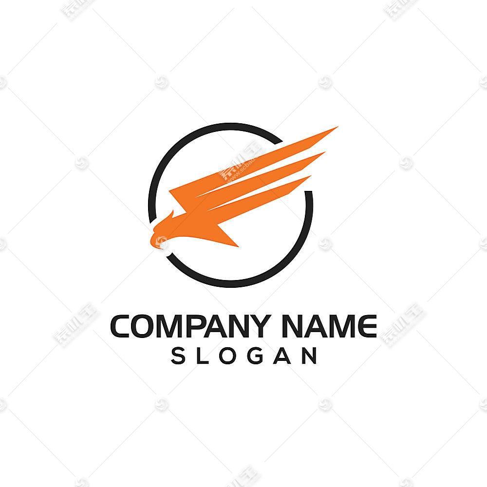 雄鹰主题LOGO徽章图标设计