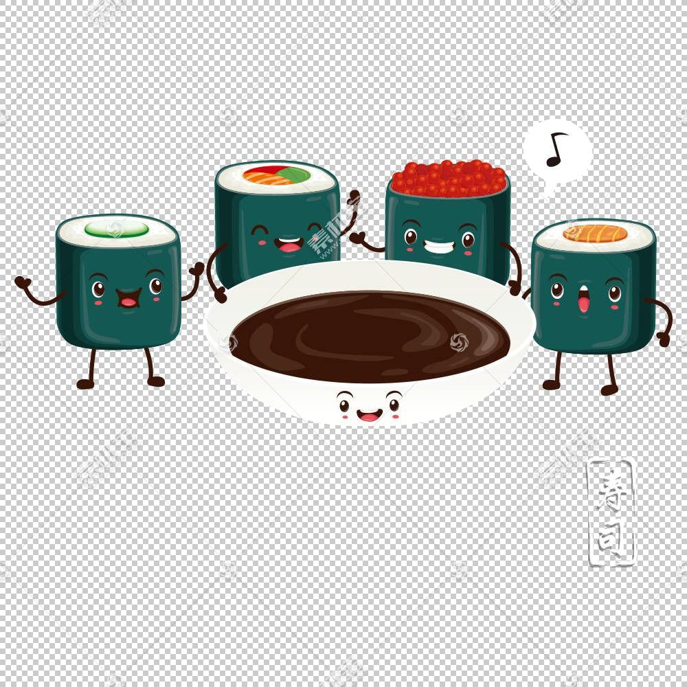 寿司卡通,表,汤姆鼓,陶瓷,动画,传送带寿司,鲑鱼,菜肴,食物,平面