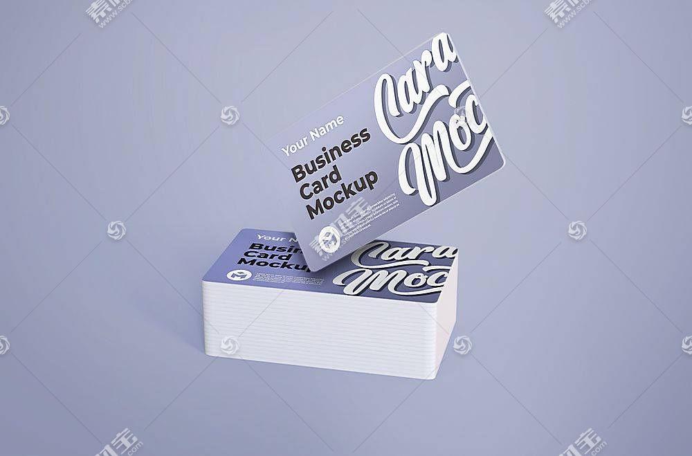 卡片设计样机