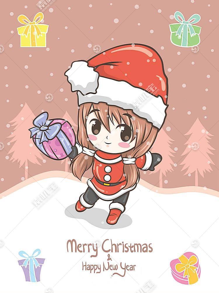 圣诞节插画
