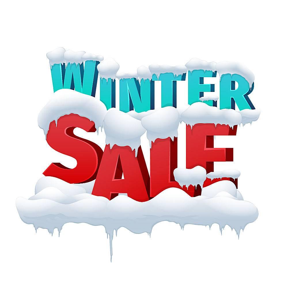 冬季销售宣传设计