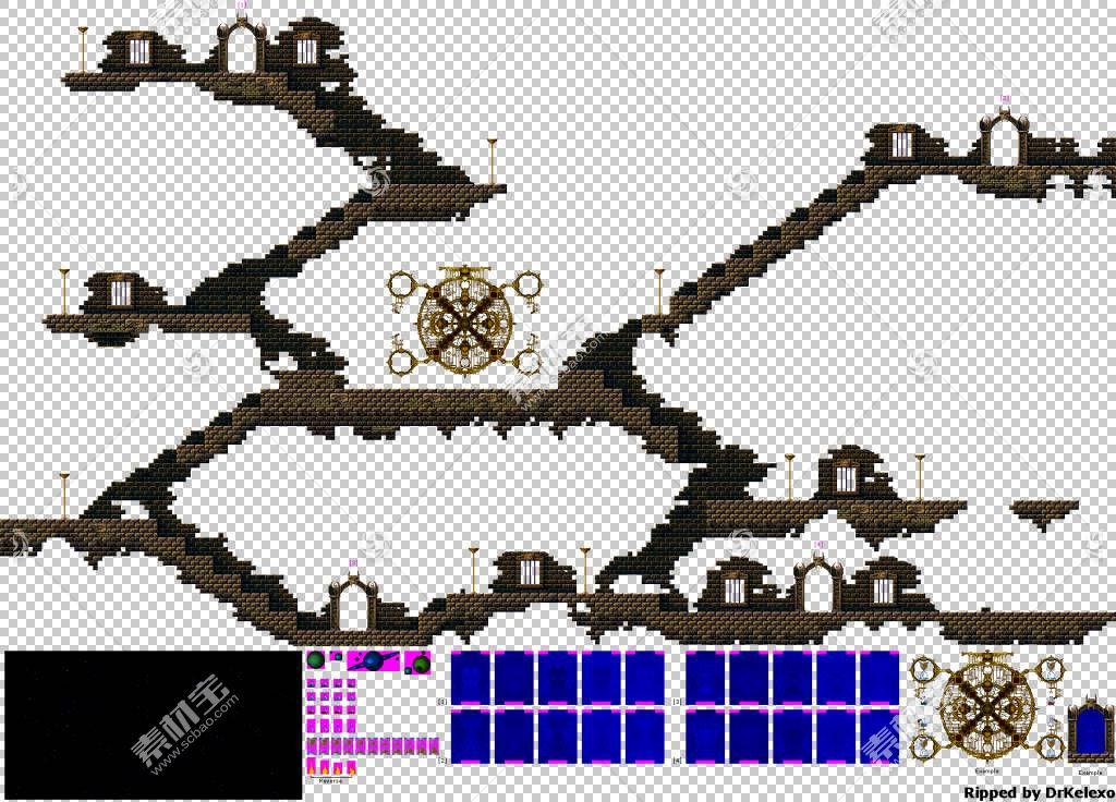 Chakan:Forever Man Mega Drive Sprite视频游戏,立体拼图PNG剪图片