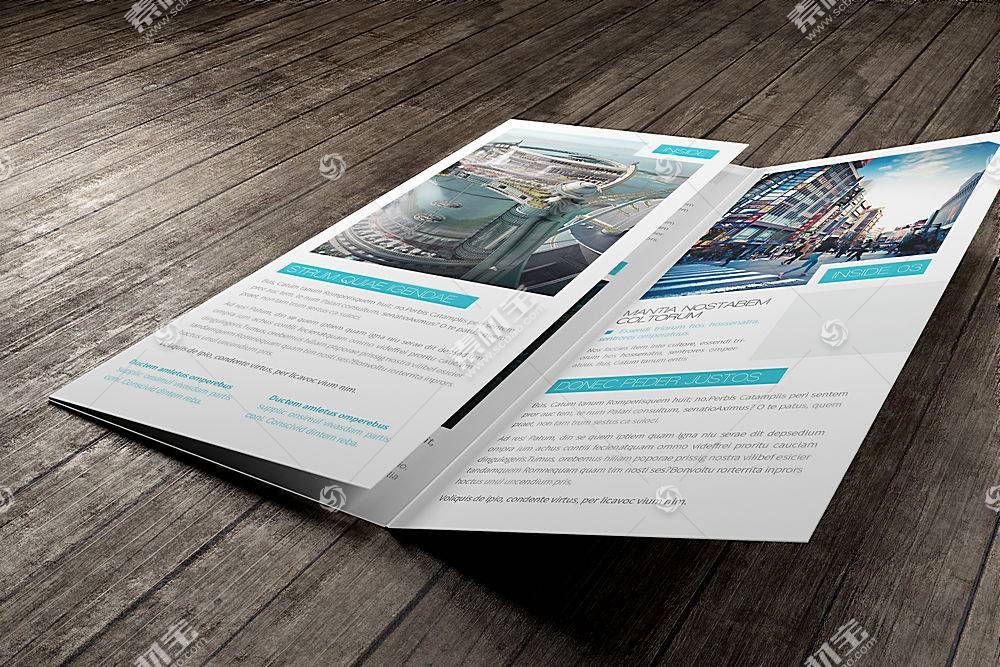 三折页贴图样机 (41)