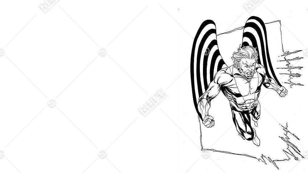 漫画壁纸,x战警,女妖,壁纸