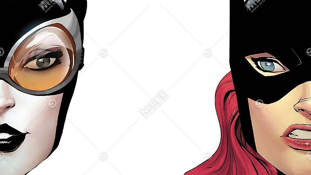 漫画壁纸,蝙蝠女侠,猫女,壁纸(2)