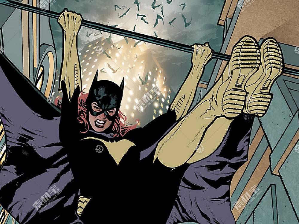 漫画壁纸,蝙蝠女侠,壁纸(34)
