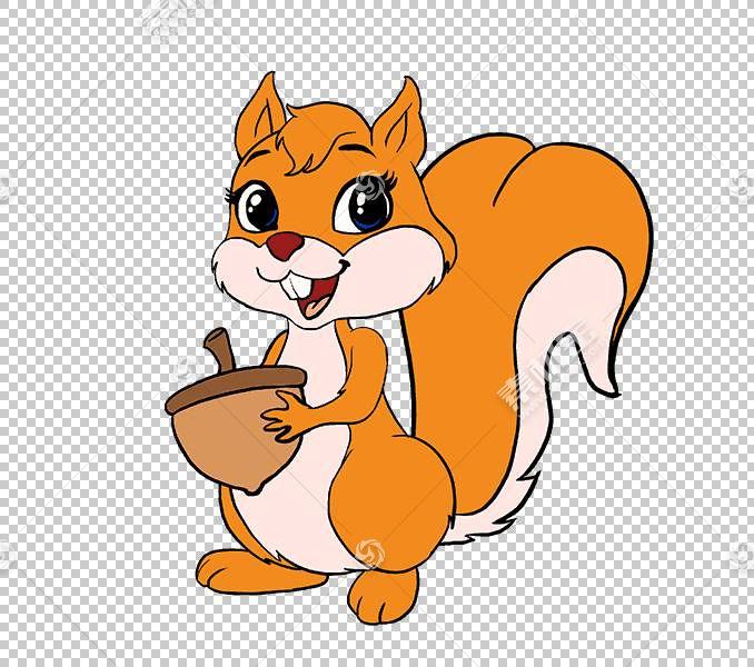 松鼠啮齿动物绘图卡通线条艺术,松鼠PNG剪贴画哺乳动物,猫像哺乳