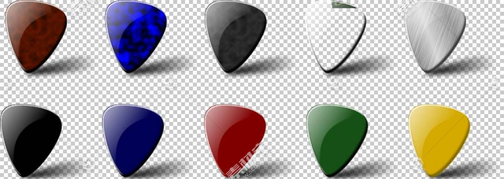 吉他拨片,吉他艺术PNG剪贴画徽标,吉他手,免版税,可缩放矢量图形,