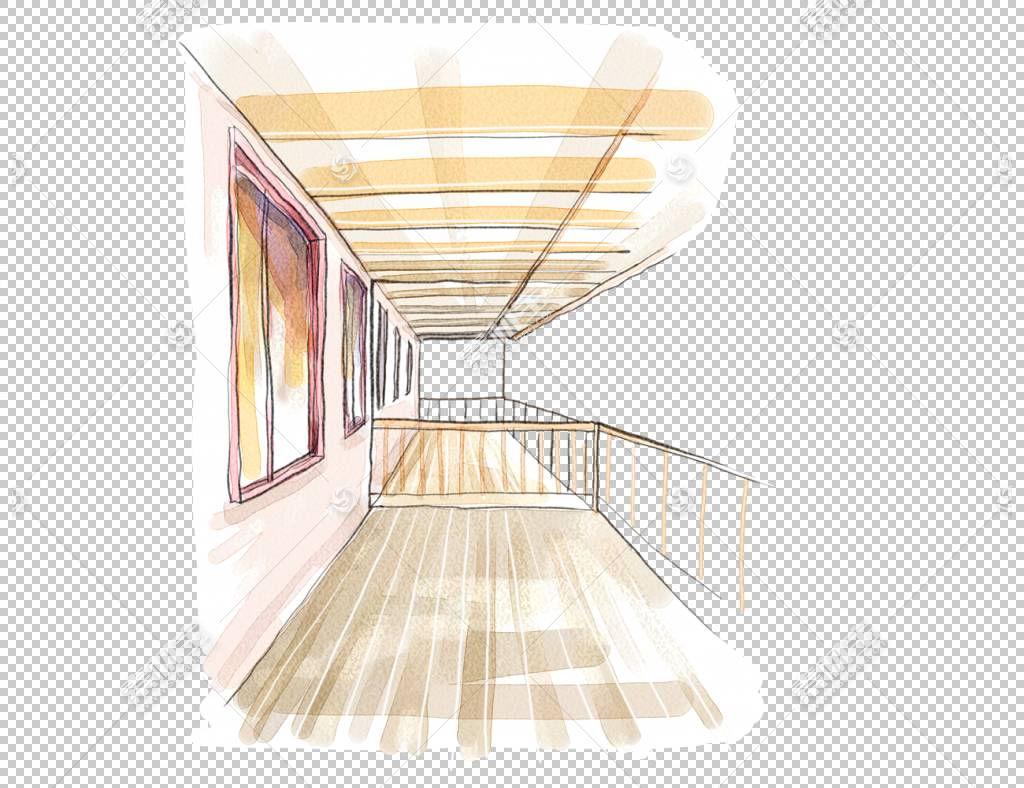 阳台室内设计服务,阳台PNG剪贴画杂项,角度,家具,绘,手,室内设计图片
