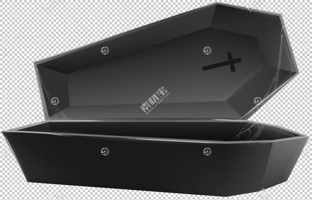盒子矩形水暖装置,打开棺材黑色透明,黑色棺材棺材PNG剪贴画角度,