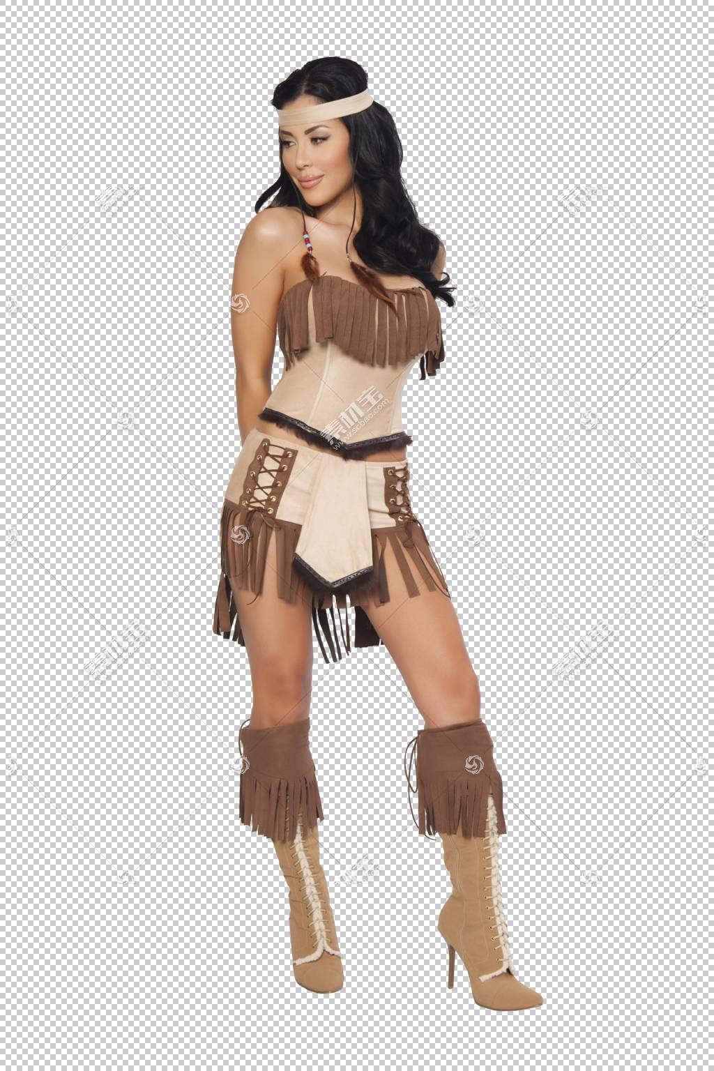 服装派对服装万圣节服装角色扮演,性感女孩PNG剪贴画艺术,squaw,