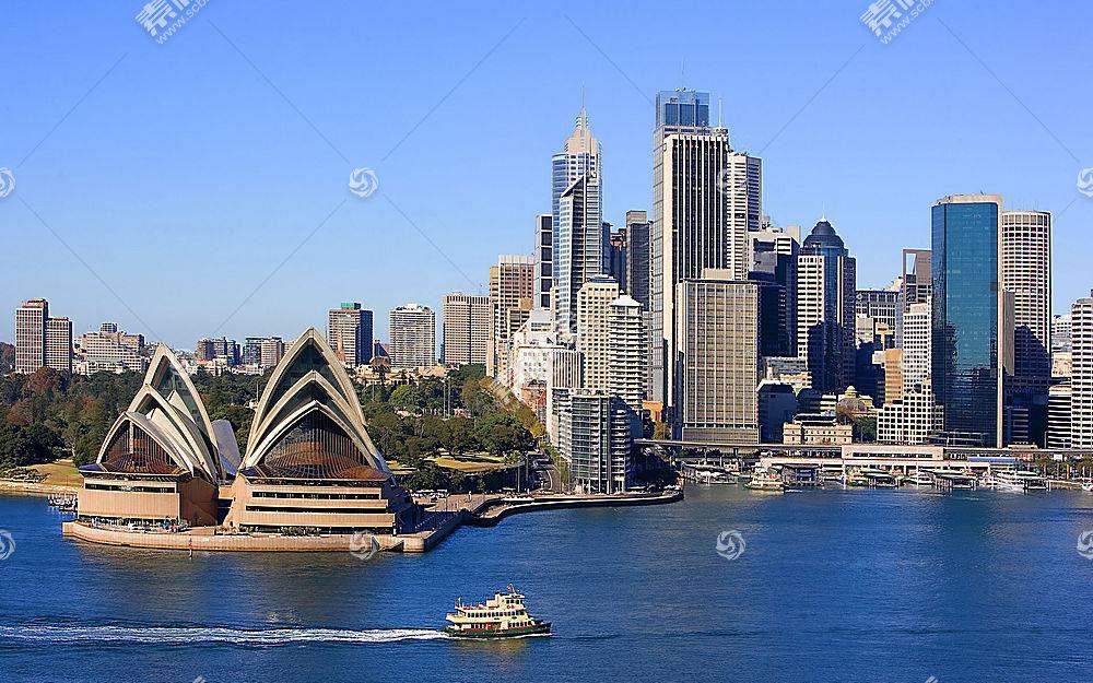悉尼,歌剧,房子,壁纸,(2)
