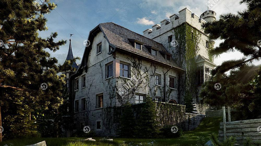 房子,建筑物,壁纸,(155)