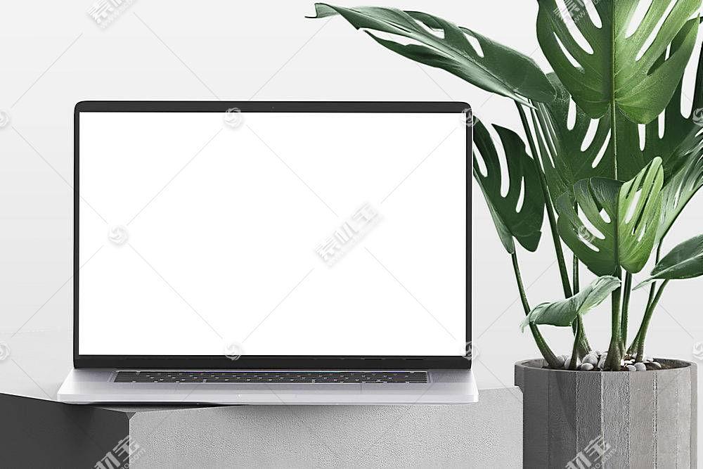 笔记本电脑PSD素材