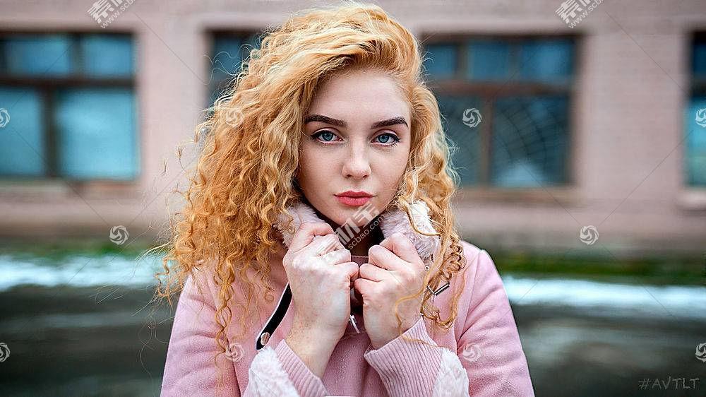 女人,模特,妇女,女孩,白皙的,蓝色,眼睛,深度,关于,领域,壁纸,(2)