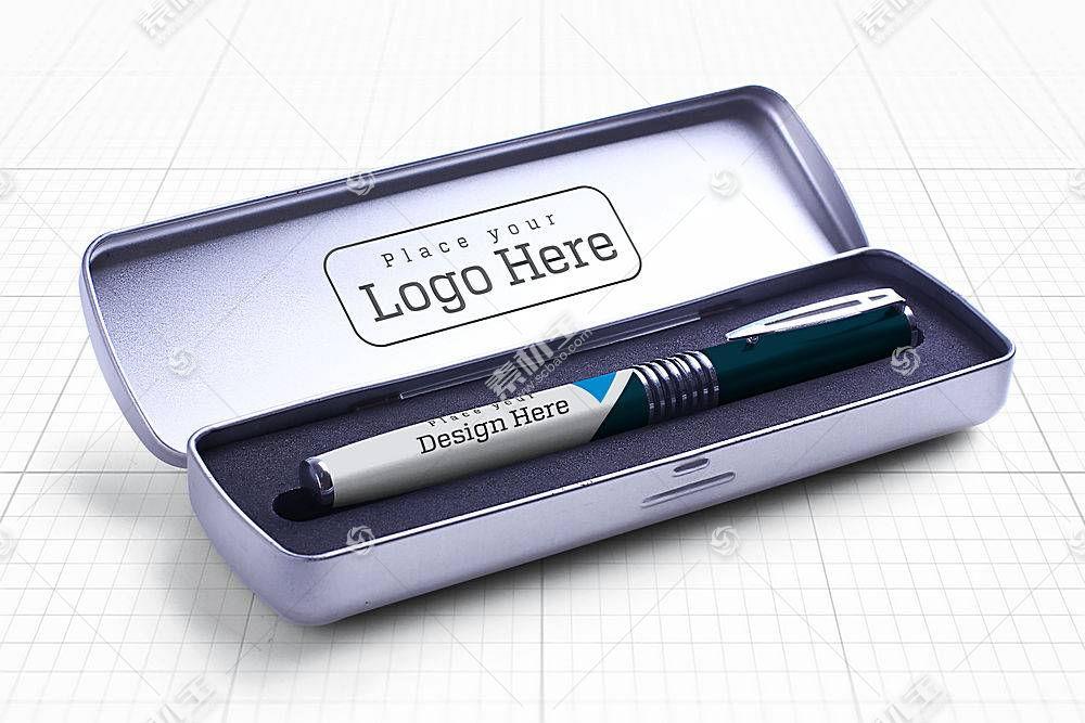 钢笔外观包装样机
