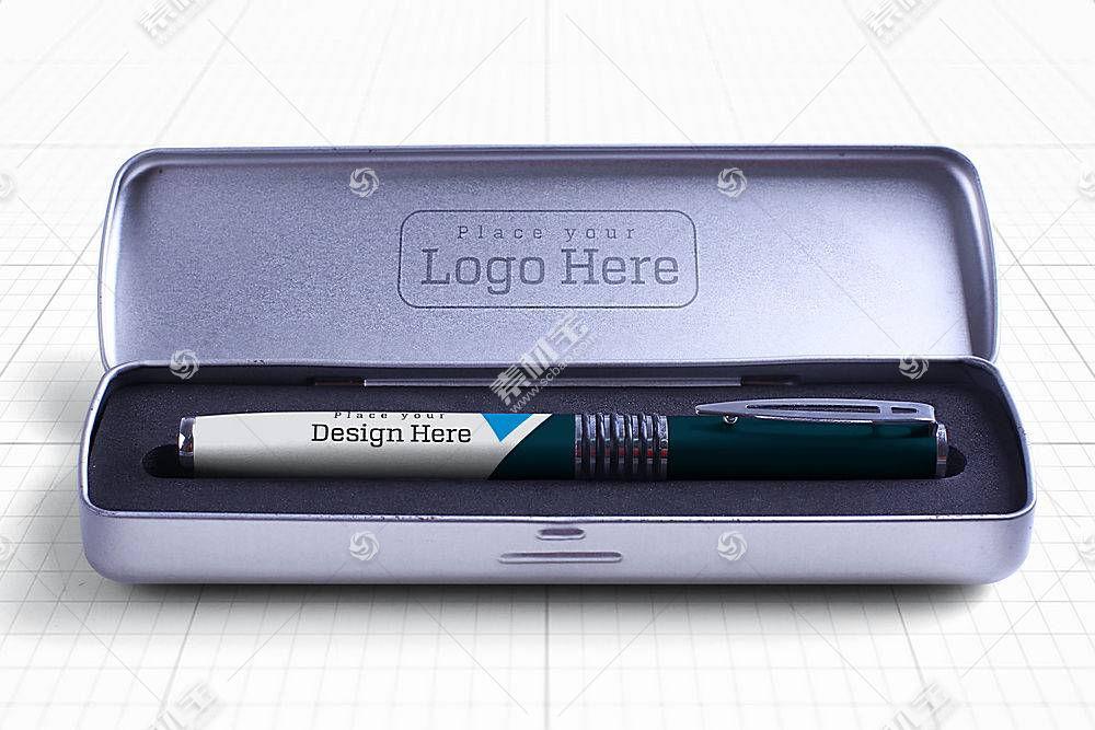 钢笔外包装样机