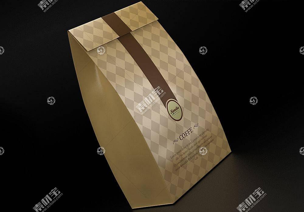 纸袋效果展示智能样机