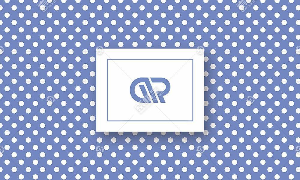 简约风格企业品牌文具包文件袋设计模板