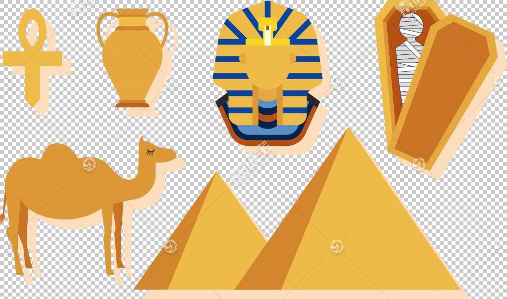 法老,线路,手,黄色,骆驼般的哺乳动物,符号,文本,埃及,信息图,法