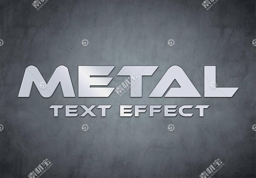 灰色大气主题字体设计