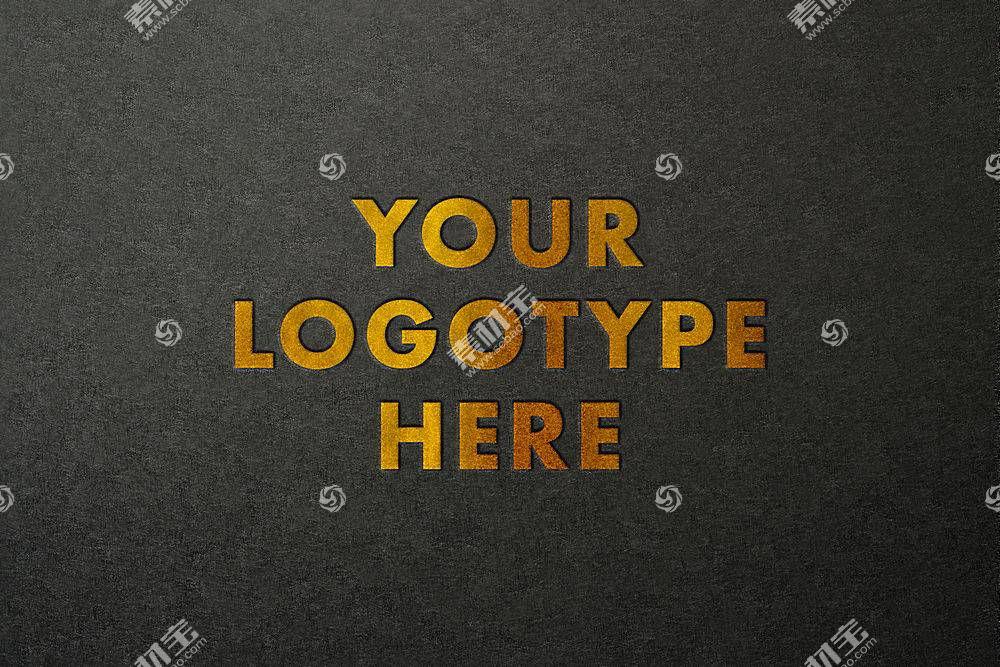 金色主题字体设计