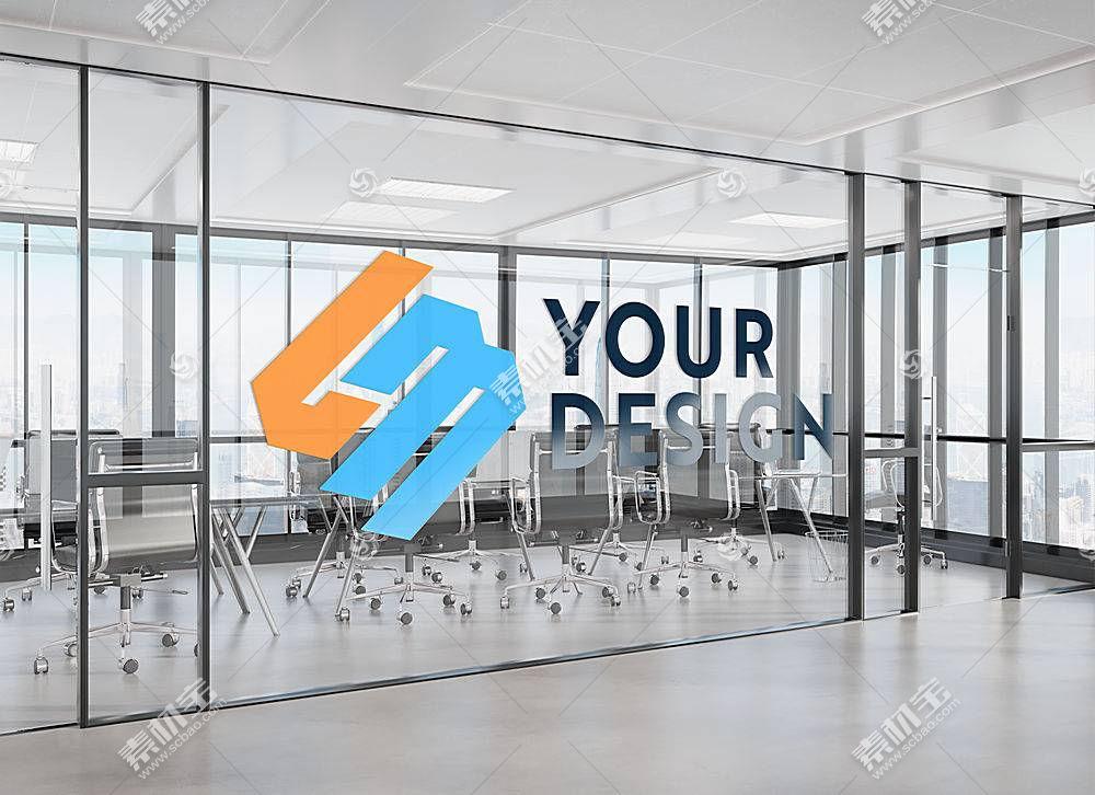 高清创意企业形象LOGO前台办公室文化